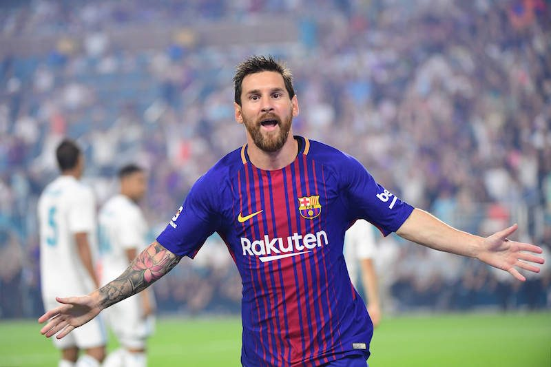 top 10 buts messi