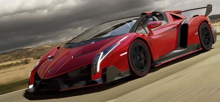 voitures les plus chères du monde - lamborghini veneno roadster