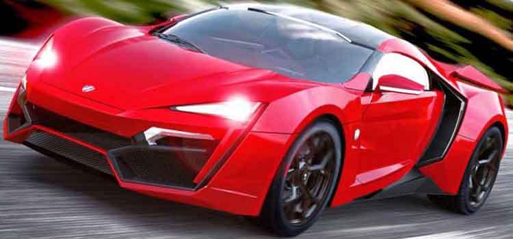 voitures les plus cheres du monde - lykan hypersport
