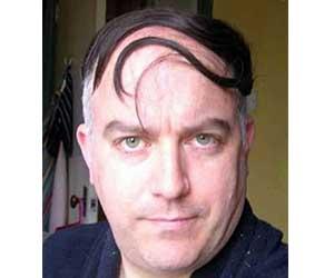 Coupe de cheveux pour homme avec calvitie